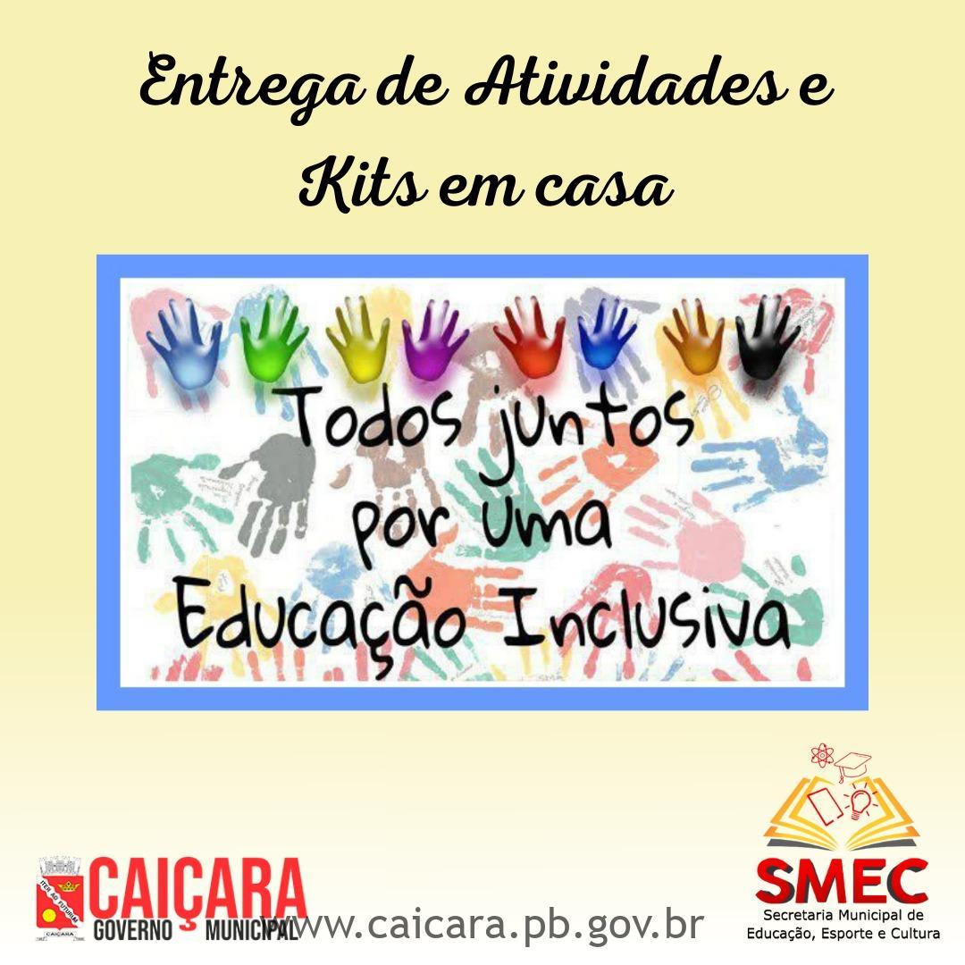 Secretaria de Educação realiza Entrega de Atividade e Kits em casa