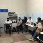 Reunião da equipe de combate ao COVID 19