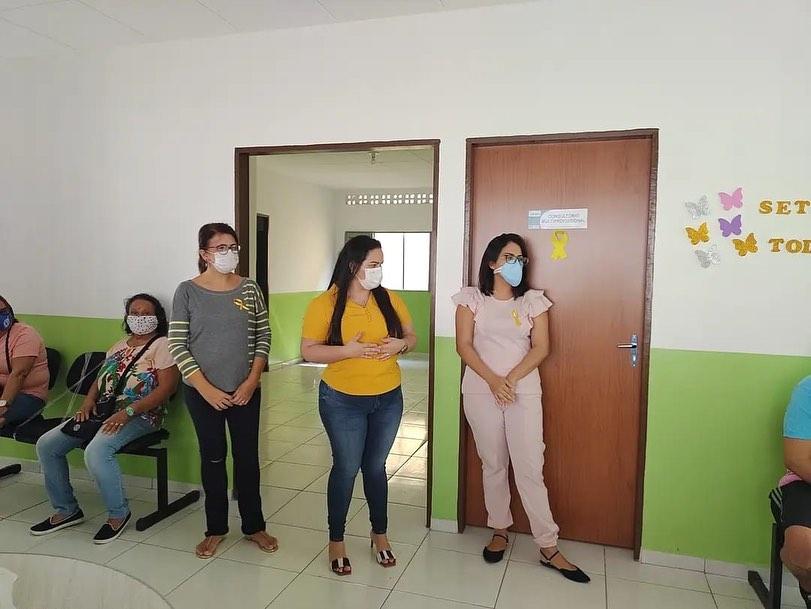 Foram iniciados os atendimentos hoje no CAPS Caiçara com a acolhida dos nossos pacientes